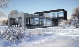 casas de estilo minimalista por aleksandr zhydkov architect - Casas Minimalistas