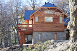 Projekty, klasyczne Domy zaprojektowane przez Aguirre Arquitectura Patagonica
