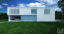 Nhà by  Aleksandr Zhydkov Architect