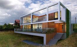 Дом во Львове: Дома в . Автор –  Aleksandr Zhydkov Architect