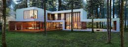 Aleksandr Zhydkov Architect: minimal tarz tarz Evler