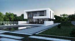 single-family dwelling house: Дома в . Автор –  Aleksandr Zhydkov Architect