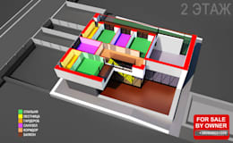 ДОМ В ПОДМОСКОВЬЕ: Дома в . Автор –  Aleksandr Zhydkov Architect