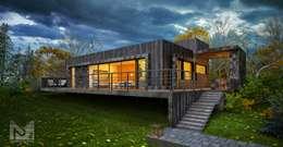 дом на склоне: Дома в . Автор –  Aleksandr Zhydkov Architect
