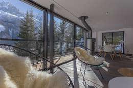 Salas de estilo moderno por Chevallier Architectes