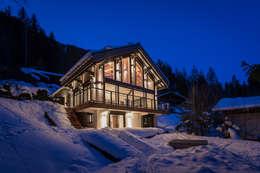 Casas de estilo moderno por Chevallier Architectes