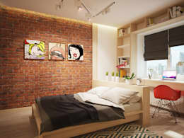 Polovets design studioが手掛けた寝室