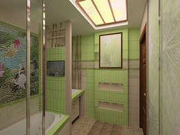 ООО ПрофЭксклюзив Студия дизайна интерьеров의  화장실