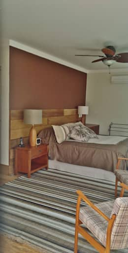 Dormitorios de estilo rústico por Kika Prata Arquitetura e Interiores.