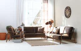 Livings de estilo escandinavo por STYLE-K