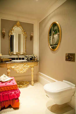 Kerim Çarmıklı İç Mimarlık – Çubukluvadi Evi : modern tarz Banyo