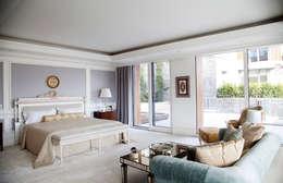 Kerim Çarmıklı İç Mimarlık – Çubukluvadi Evi : modern tarz Yatak Odası