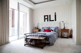 Kerim Çarmıklı İç Mimarlık – Çubukluvadi Evi : modern tarz Çocuk Odası