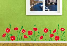 Paredes y pisos de estilo mediterraneo por wall-art.fr