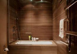 Kerim Çarmıklı İç Mimarlık – D.M.U. ARNAVUTKÖY EVİ II : modern tarz Banyo