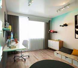 Salas de estilo minimalista por IK-architects