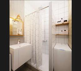 IK-architects의  화장실