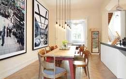 modern Dining room by Schmidt Holzinger Innenarchitekten