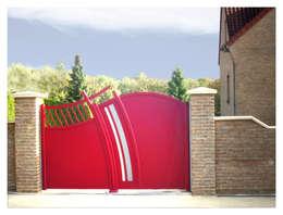 Puertas y ventanas de estilo moderno por Art et Portails