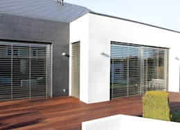 minimalistische Huizen door STRUKTURA Łukasz Lewandowski