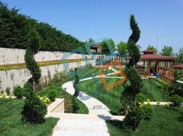 GNC Ahşap Tasarım Orman Ürn. Mimarlık ve Peyzaj San. Tic Ltd. Şti. – Peyzaj Uygulaması: modern tarz Bahçe