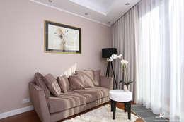 Pokój gościnny: styl , w kategorii Salon zaprojektowany przez Studio Modelowania Przestrzeni