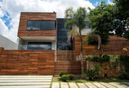 Projeto Casa Moderna - Jorge Elmor: Casas modernas por Elmor Arquitetura
