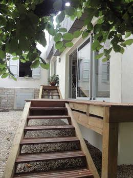 terrasse extérieure: Spa de style de style Moderne par MARION GORGUES