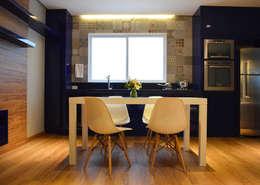 Cocinas de estilo moderno por Boa Arquitetura