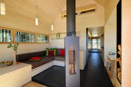 Hofgut Hafnerleiten: modern tarz Oturma Odası