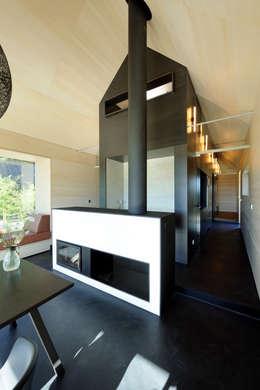 modern Living room by Hofgut Hafnerleiten