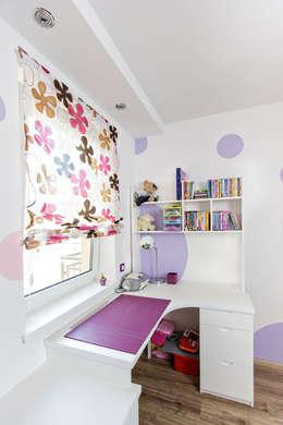 Purple flower: styl , w kategorii Pokój dziecięcy zaprojektowany przez Cobo Design