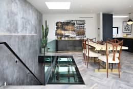 modern Dining room by Alex Maguire Photography