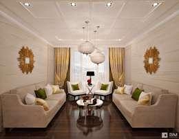 Дизайн интерьера 2-х комнатной квартиры : Гостиная в . Автор – GM-interior