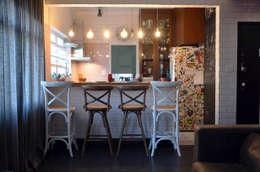 Projekty,  Kuchnia zaprojektowane przez Mmaverick Arquitetura