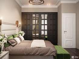 Дизайн интерьера 2-х комнатной квартиры : Спальни в . Автор – GM-interior