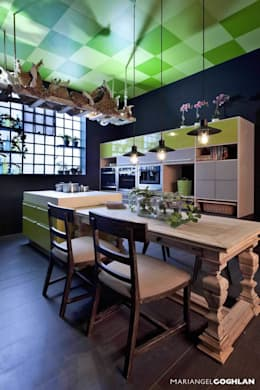 eclectic Kitchen by MARIANGEL COGHLAN