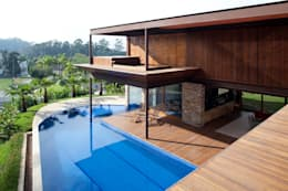 Casas de estilo moderno por Gálvez & Márton Arquitetura