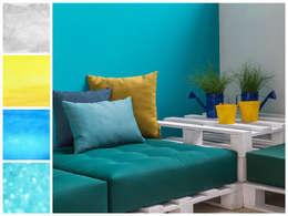 Novedades 2015: Sala multimedia de estilo  por MARIANGEL COGHLAN