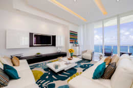 modern Living room by Infinity Spaces