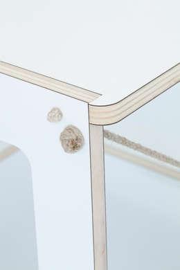 Detail Chair : minimalistische Studeerkamer/kantoor door Studio Toon Welling
