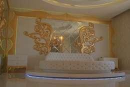 ecemutfak dekorasyon nazmi ece – GAZİANTEP 6+4 MODERN: modern tarz Yatak Odası