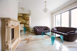 classic Living room تنفيذ Anna Buczny PROJEKTOWANIE WNĘTRZ