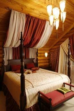 Dormitorios de estilo rústico por Amazing Studio Светланы Панариной