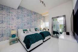 غرفة نوم تنفيذ Infinity Spaces