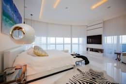 modern Bedroom by Infinity Spaces