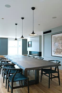 industrial Dining room by Terry Design