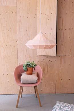 Projekty,  Salon zaprojektowane przez Snowpuppe