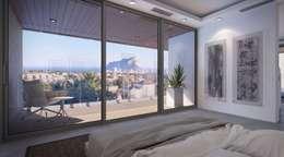 Dormitorios de estilo moderno por PGK Studios