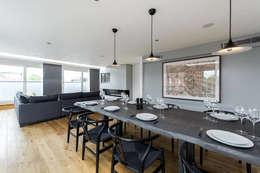 غرفة المعيشة تنفيذ Terry Design